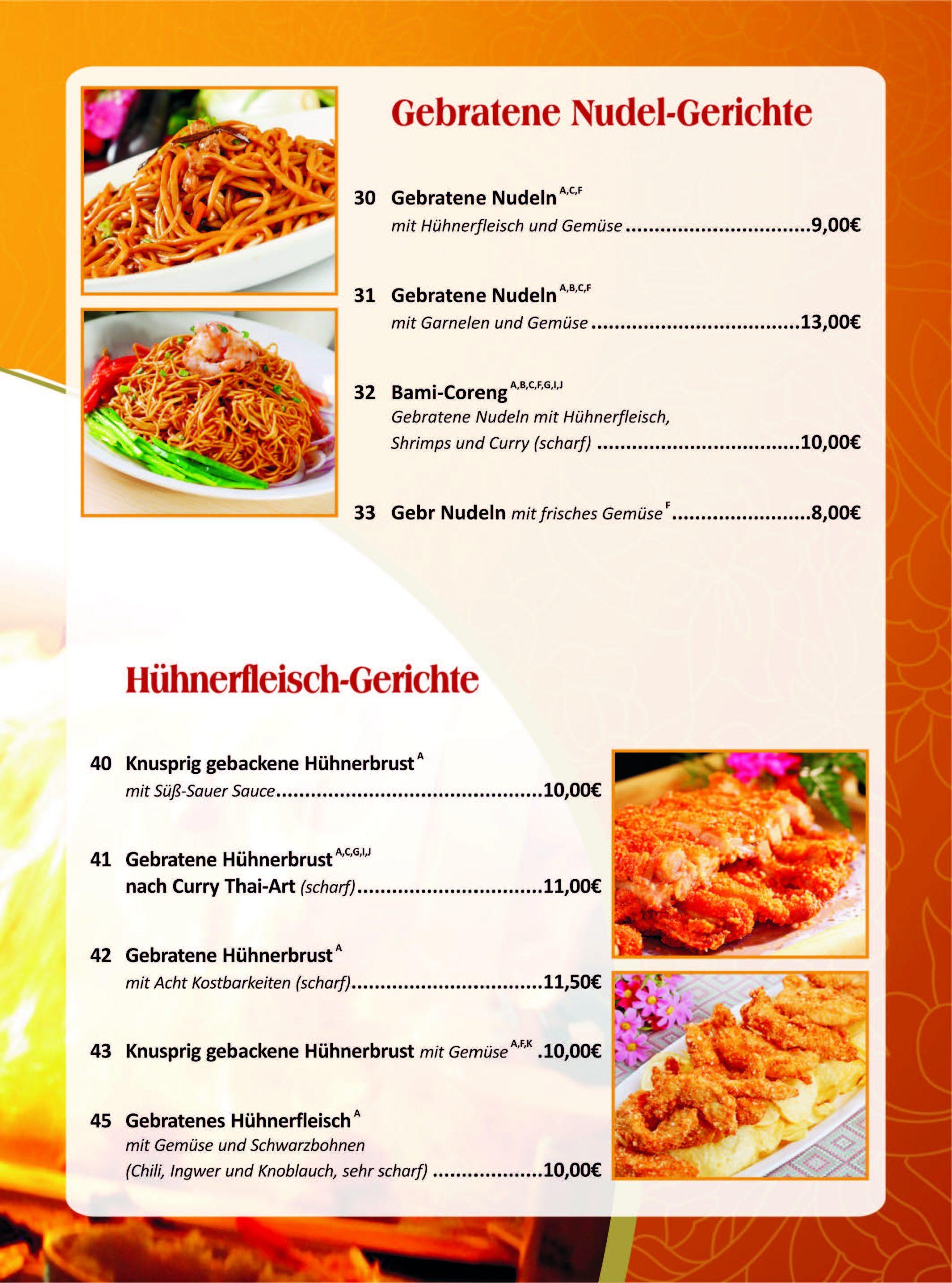 Speisekarte Seite 4